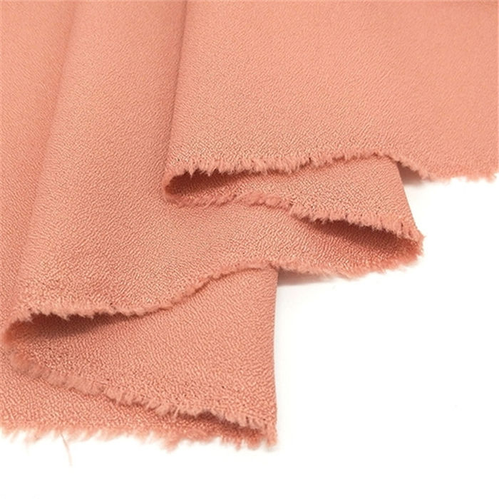 High quality stretch woven chiffon cloth material 100% Polyester dress fabric
