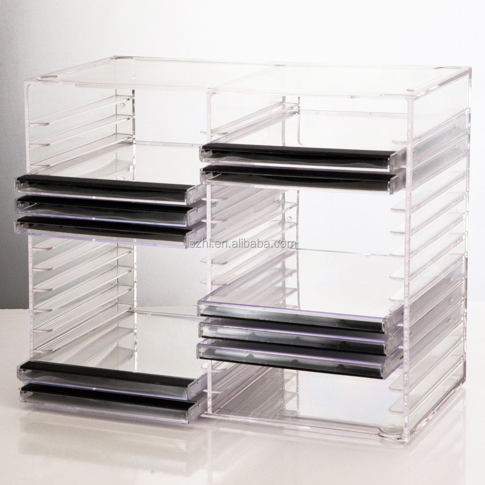 Acryl Stapelbaar CD Houder Rack/CD Collectie Opslag Display Stand
