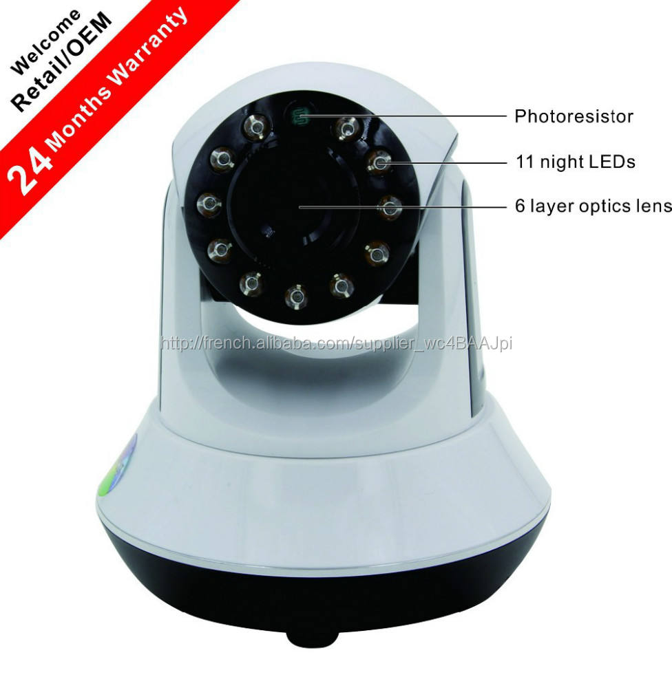 Caméra numérique sans fil Wireless WiFi <span class=keywords><strong>720P</strong></span> Ip Rotation <span class=keywords><strong>ONVIF</strong></span>