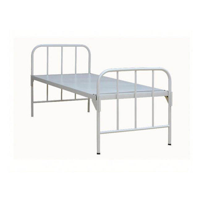 customized foldable galvanized metal hospital metal beds
