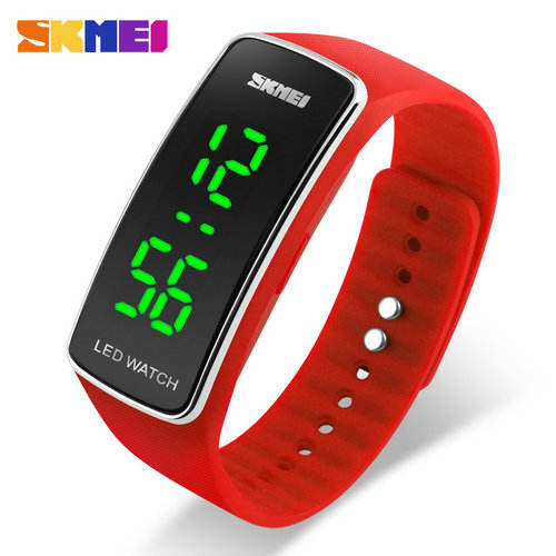 핫 세일 Chreap Price SKMEI 1119 Fashion 엘 빛 LED Digital Sport no 방수 Women Watch