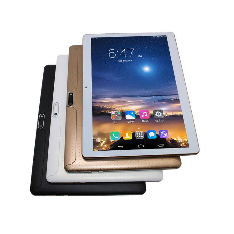 Tablet 10.1 inch 3G telefoontje tablet pc MTK6582 IPS scherm quad core + dual sim + GPS + bluetooth + 1G/16G + OTG + wifi phablet