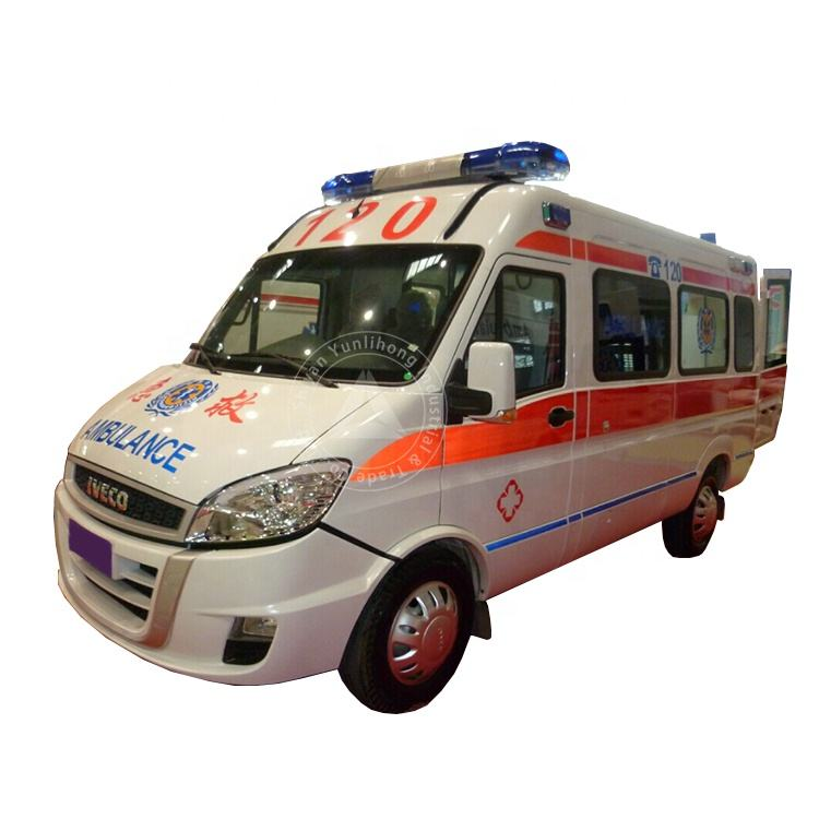 YLH5044LC LHD Diesel ICU Transit Medical Clinic Mobile ICU Ambulance Bus Design
