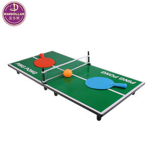 Mini Portable Tabletop Table Tennis Ping Pong Board Game Set for Kids Toys