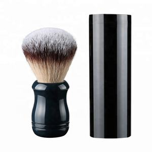 JDK Professional Manufacturer Synthetic Shaving Brush Acrylic Handle with Private Label