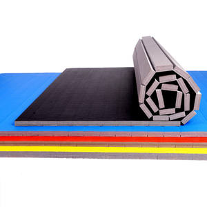 Custom Echtelijke Art Mat Roll Tatami Gymnastiek Training Floor Mat
