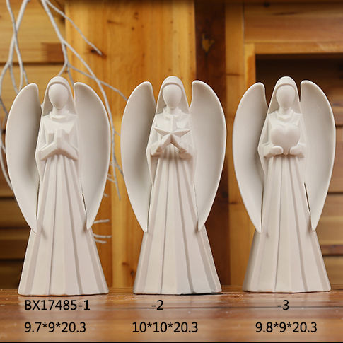 Our Lady Of Lourdes Bright Ivory 3 x 8 Resin Stone Tabletop Rosary Holder ,Blessed Virgin Mary Statue