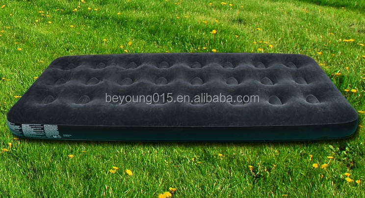 Bestway Comfort Green Inflatable Single mattress Camping Air Mattress Airbed