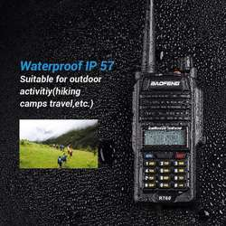 2017 New BAOFENG BF-R760 Dual Band Two-Way Radio Portable Waterproof Walkie Talkie 5W Baofeng walkie talkie