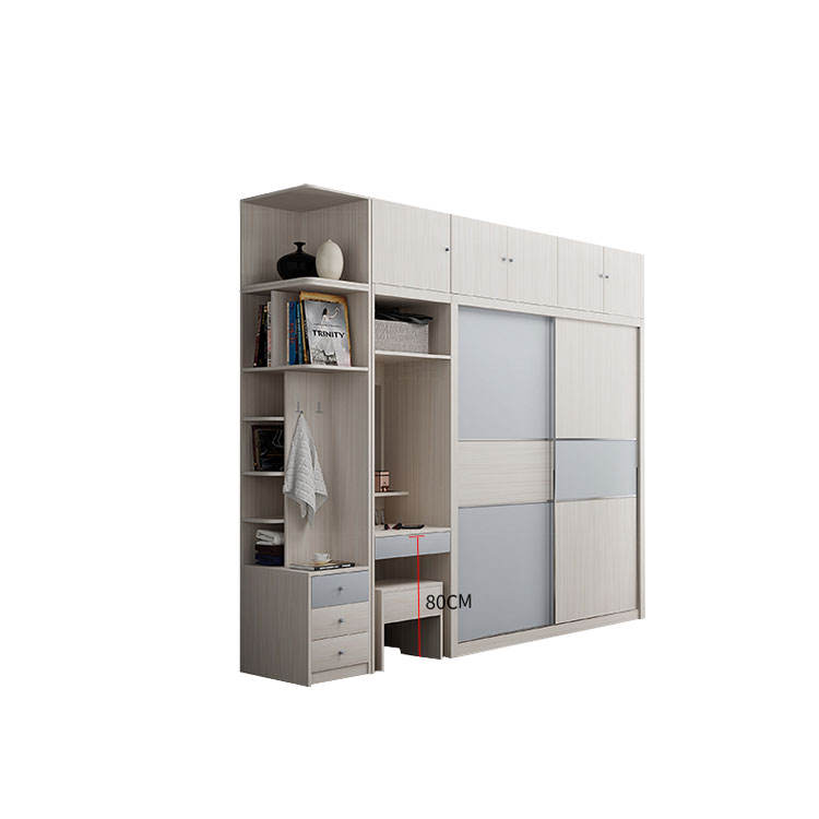 2018 hot sale modern white wardrobe closet for room