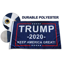 Hot Wholesale US Flags Donald Trump 2020 Keep America Great Flag 3*5ft 150*90cm Polyester Banner for President