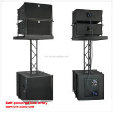CVR Pro line array factory active powerful indoor line array speaker
