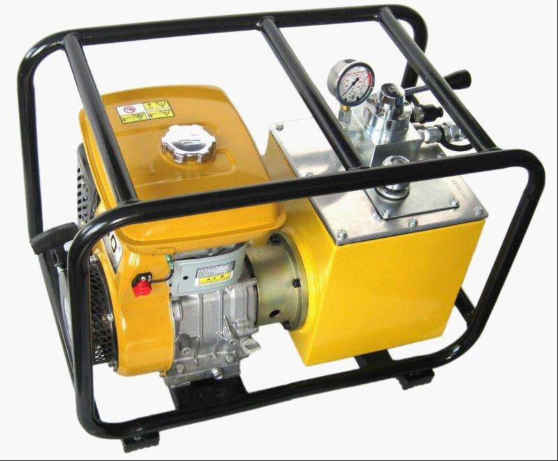 Double Acting Gasoline Pressure Hydraulic Hand Pump with HPG-700, Gasoline / Petrol Engine Driven