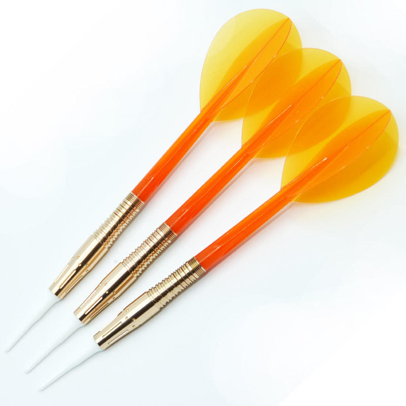 Customized Gold Color 90% Soft Tip Tungsten Dart Barrels