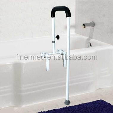 Floor-to-Tub Bath Safety Rail