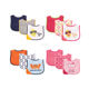 Top quality newborn Applique teether bib boys & girls 65% cotton 35% Polyester fabric content baby products wholesale No.02203