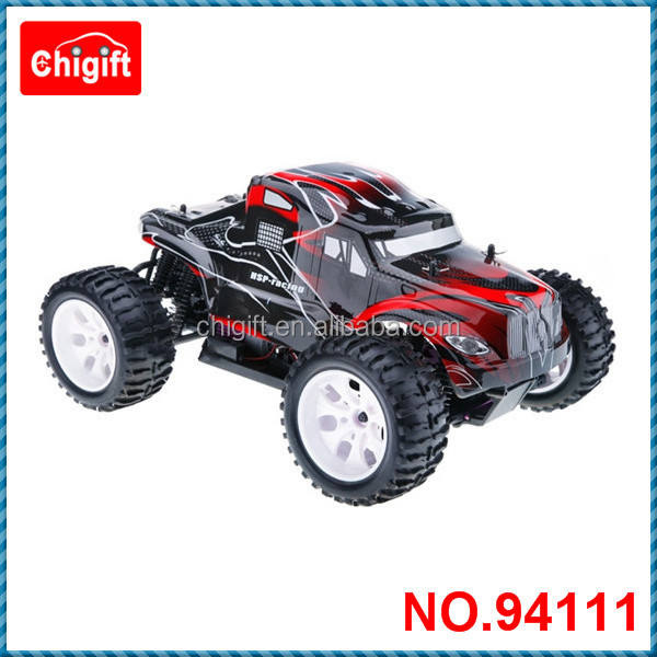 Rc electric car hsp 94111 1/10th Scale 4WD Off Road Brushed Monster Truck