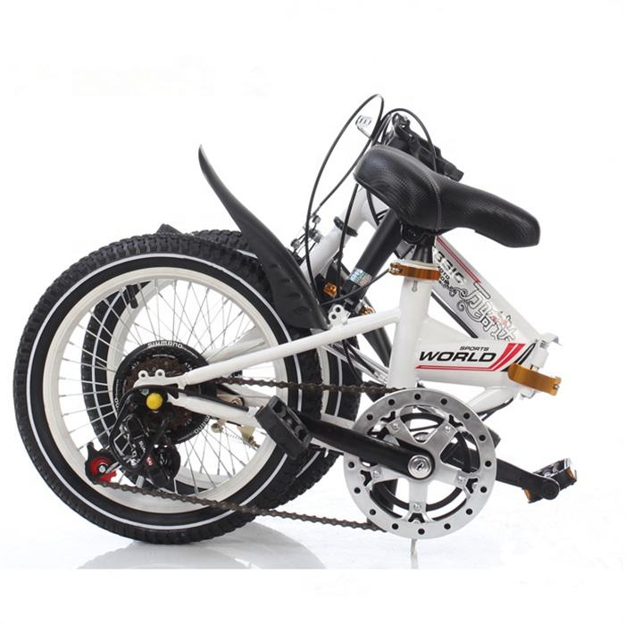 Hot sale mini size 80cm length multispeed folding bicycle