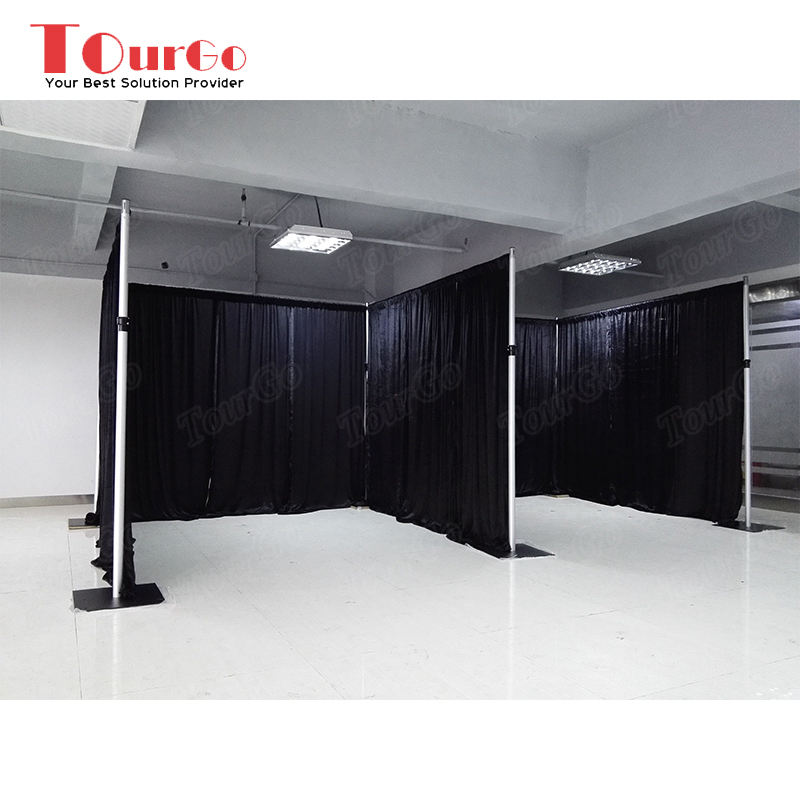 TourGo Truss Display Backdrop Pipe And Drape Kits System For Wedding