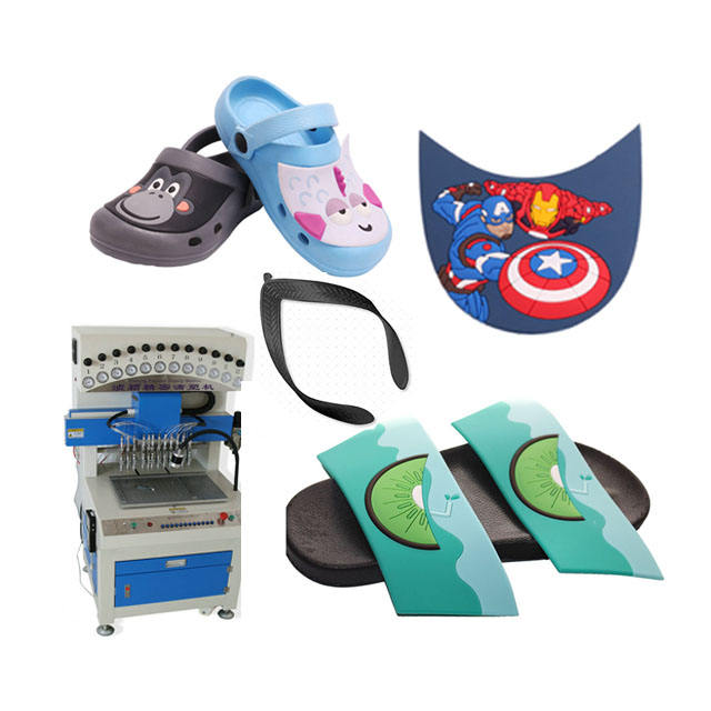 Energy-Saving PVC Shoe Sole Making Machine equipment for the production of slippers