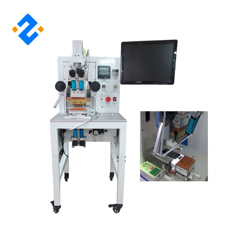 2018 Newest ACF bonding machine with 4 piece microscope and 15inch LCD display