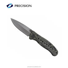 Outdoor Camping Folding titanium blade Knife survival