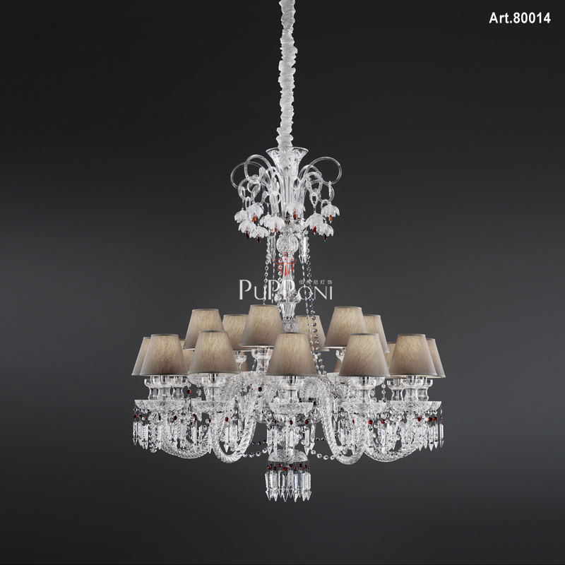 Designer Candle Chandelier Crystal