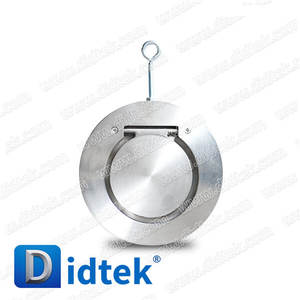 Didtek 3 Class 150 Long Lasting Service Single Plate Wafer Swing Check Valve