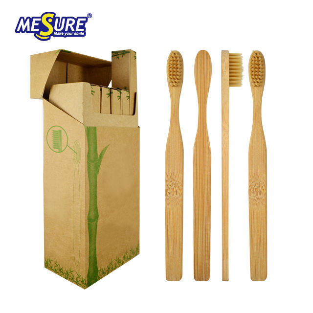High quality brush bamboo products wholesale bamboo toothbrush boxed