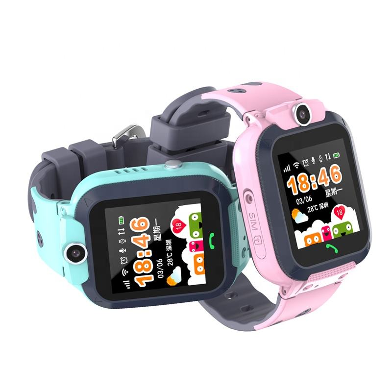 Kids GSM LBS Tracker Wrist Watch Cell Phone AGPS LBS WiFi Position Monitoring Kids Watch with waterproof