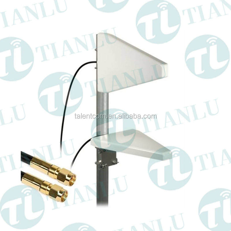 Outdoor Pole/Wall mount 4G LTE 698-2700mhz directional ABS yagi antenna with N female connector