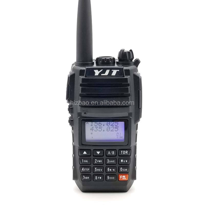 Hot verkopende Lange Afstand 8 Watt VVF/UHF Full-duplex Walkie Talkie