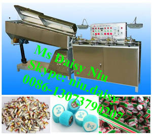 Commerical snoep roller machine/ronde snoep rollende machine/candy roll making machine