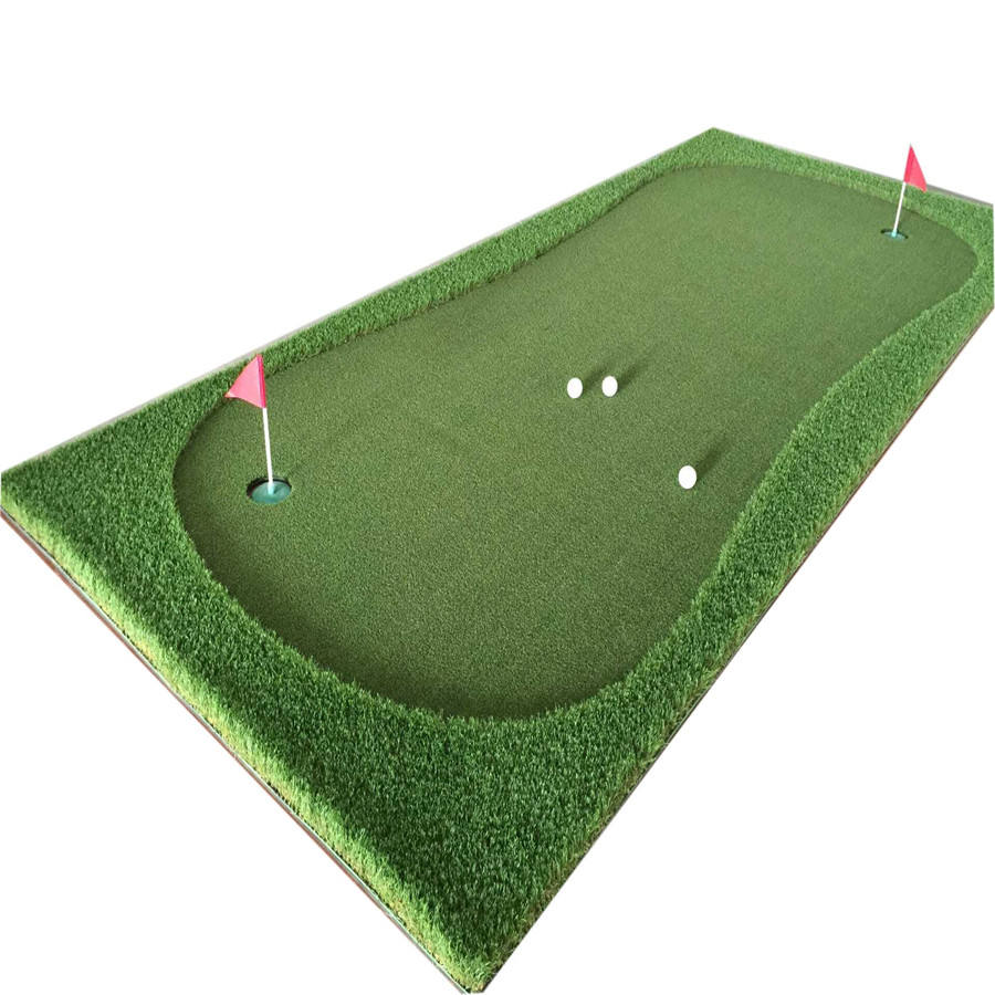 Practice Putting Greens & Golf Mat DIY