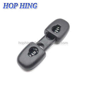 Wholesale Eco-friendly3.5mm toggles for coats/ stopper plastic / elastic cord lock for Woven Jacket