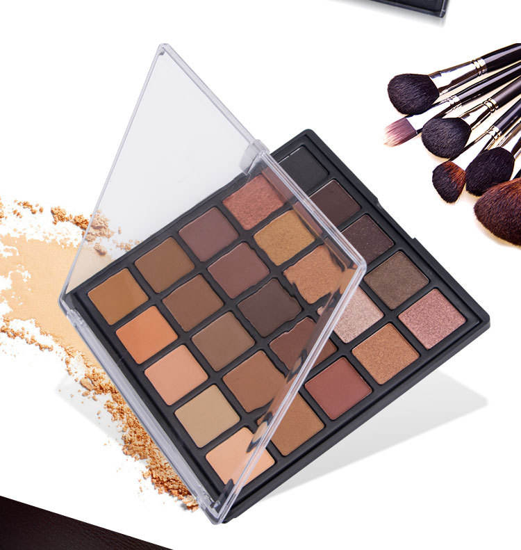 OEM Private Label 35 Color Small Particle Pressed Pure Matte Eyeshadow