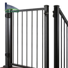 anti climb fence main gate designs laser high security fence with square post