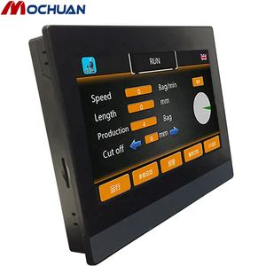 Rj45 ethernet tcp tft lcd 7 pollici modbus programmabile touch screen hmi 7 pollici