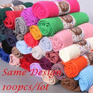 Top selling muslim fashion women cotton scarf shawls women hijab
