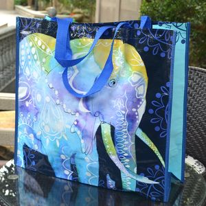 High quality eco friendly reusable shopping bags organic cotton