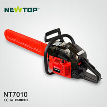 NEWTOP power max 72cc chinese gasoline 2 stroke chainsaw for wood cutting