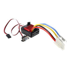 Original HobbyWing QuicRun 1:10 Brushed 60A QuicRun 1060 60A Electronic Speed Controller ESC 1060 RC Car Waterproof