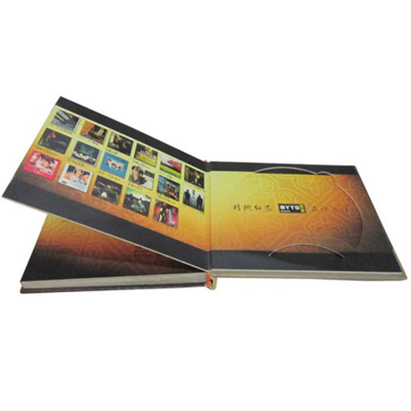 DVD CD VCD Disc Hardcover Book Printing