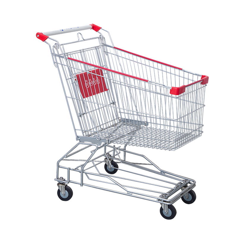 Accept custom order good quality recycling supermarket trolley for sale