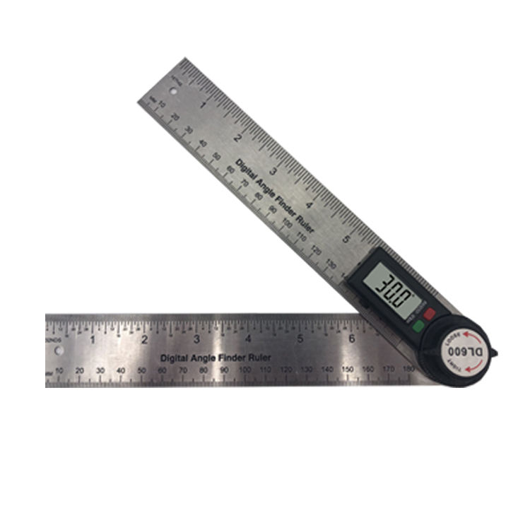 Digital Angle Finder Stainless Steel Goniometer
