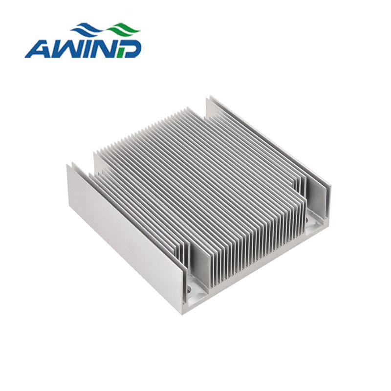 profile aluminum Anodized frame extrusion heat sink
