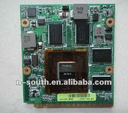 9700M GT DDR3 512MB 128 bit MXMII Video card Graphics card For ASUS