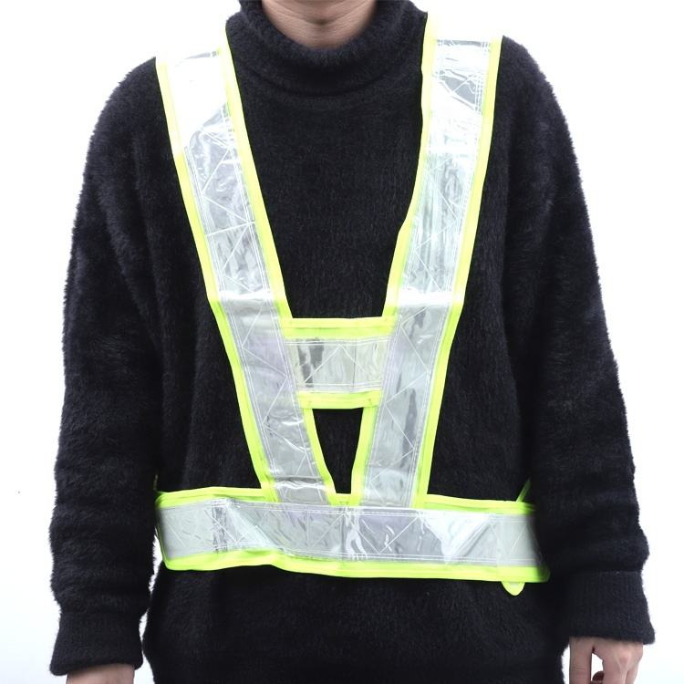 Reflector Vest Custom Printed Reflective Safety Straps For Running Or Bike Cycling