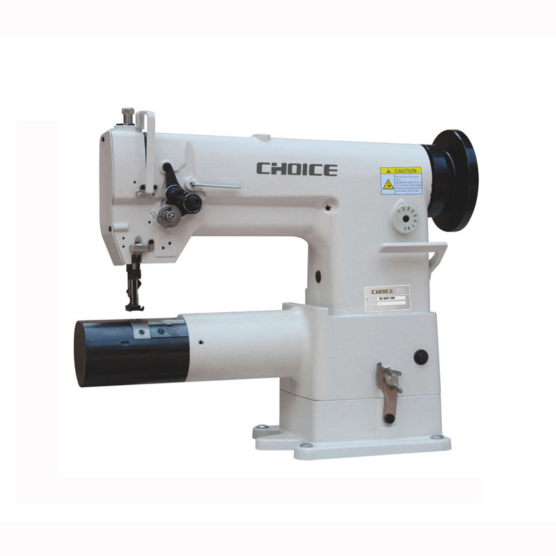 GC8341-250 Golden Choice Double needle free-arm lockstitch sewing machine for filter bags