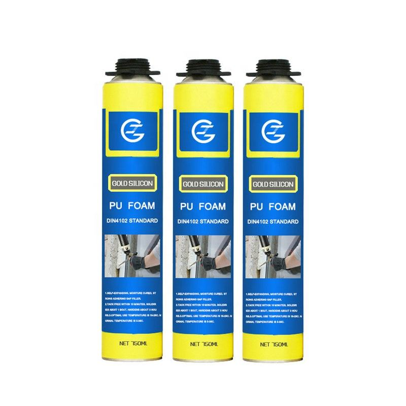 750ml Fire Rated Expansion Water proof Polyurethane PU foam Spray Sealant for construction